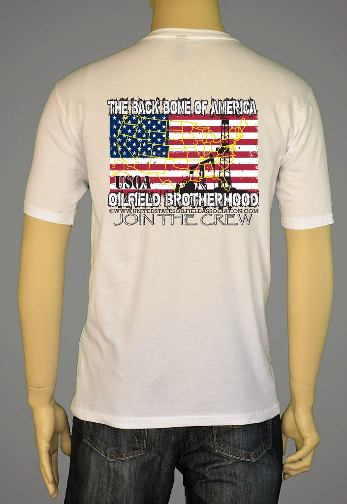 Short Sleeve T-Shirts - Back Bone Of America