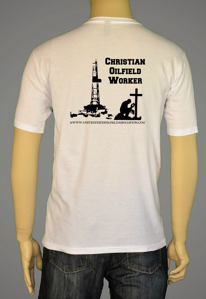 Short Sleeve T-Shirts, Long Sleeve T-Shirts, & Hoodies - Christian Oilfield Worker Vs.2