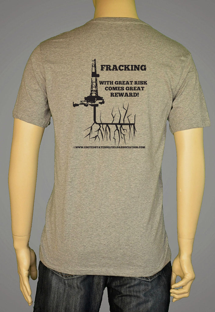 Short Sleeve T-Shirts, Long Sleeve T-Shirts, & Hoodies - Fracking
