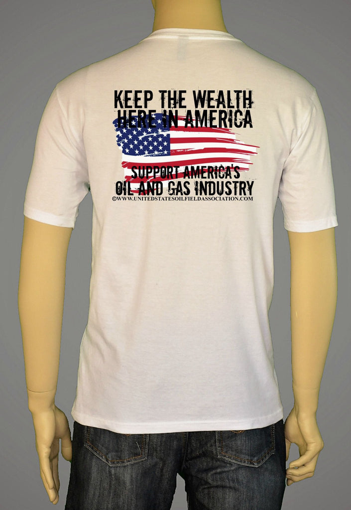 Short Sleeve T-Shirts, Long Sleeve T-Shirts, & Hoodies - Keep Wealth In The US