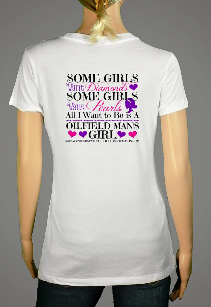 Short Sleeve T-Shirts, Long Sleeve T-Shirts, & Hoodies - Oilfield Workers Girl