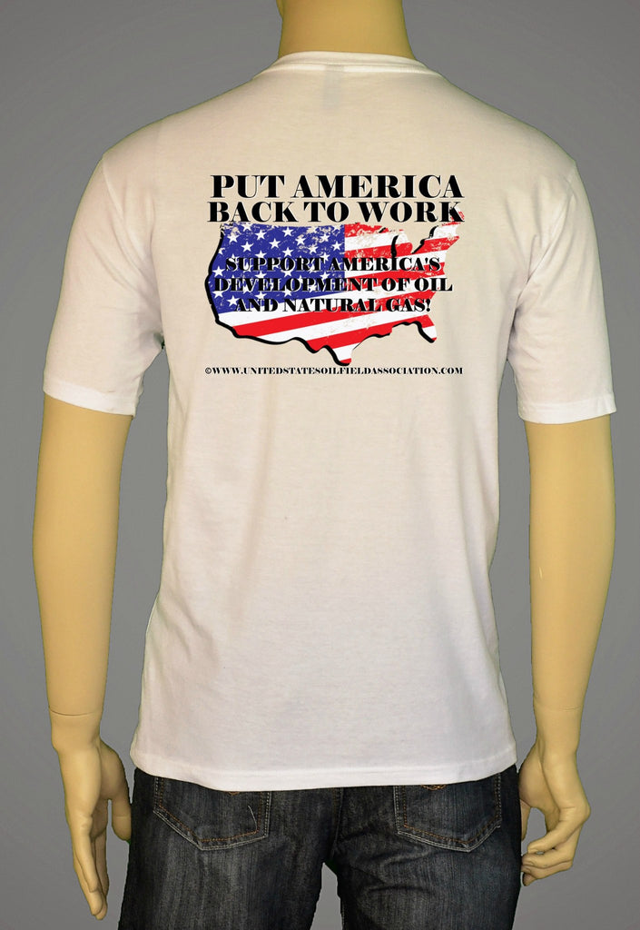 Short Sleeve T-Shirts, Long Sleeve T-Shirts, & Hoodies - Put America Back To Work