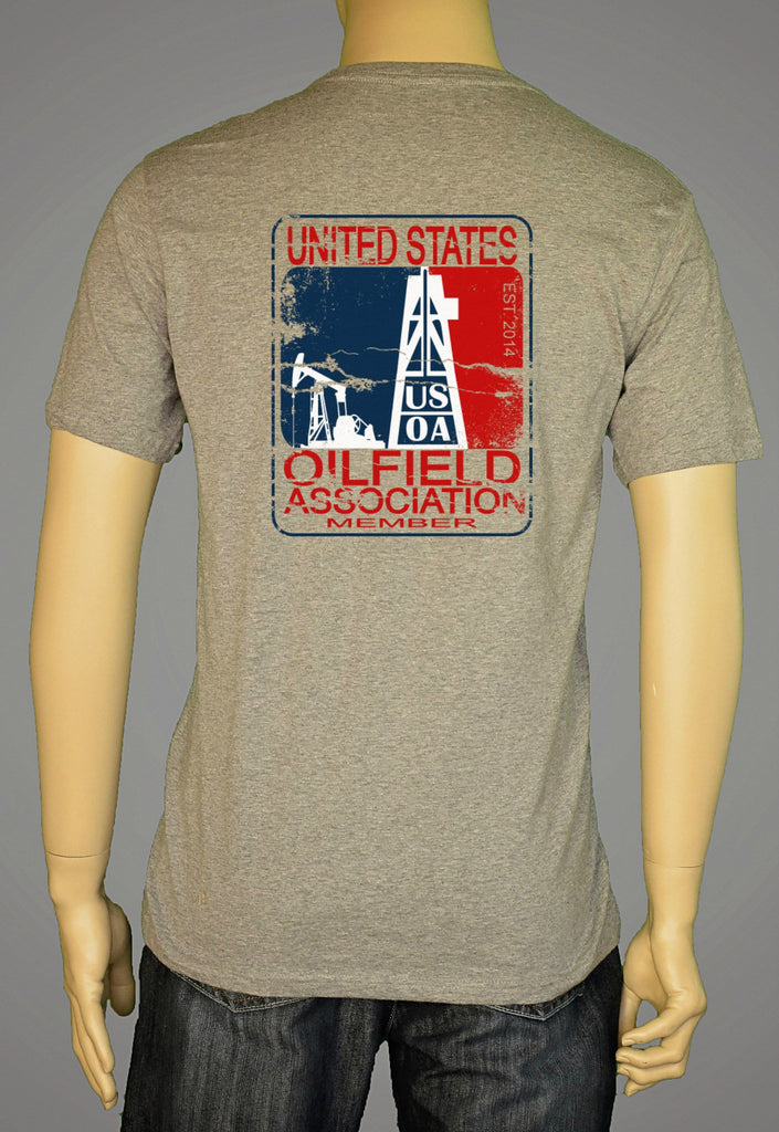 Short Sleeve T-Shirts, Long Sleeve T-Shirts, & Hoodies - United States Oilfield Association