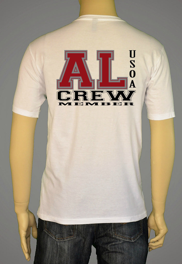 Short Sleeve T-Shirts, Long Sleeve T-Shirts, & Hoodies - USOA State Crew Alabama
