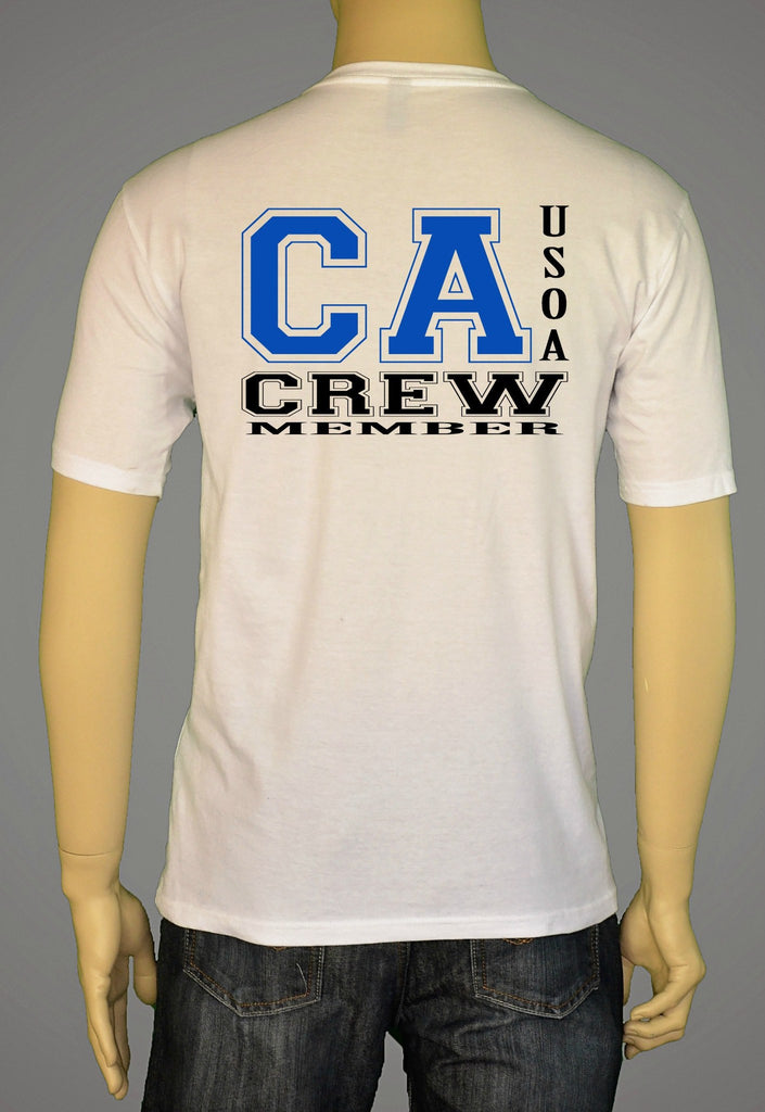 Short Sleeve T-Shirts, Long Sleeve T-Shirts, & Hoodies - USOA State Crew California