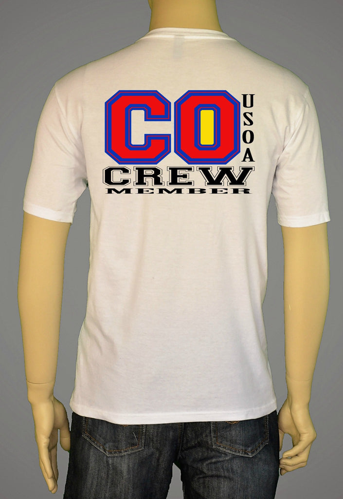 Short Sleeve T-Shirts, Long Sleeve T-Shirts, & Hoodies - USOA State Crew Colorado