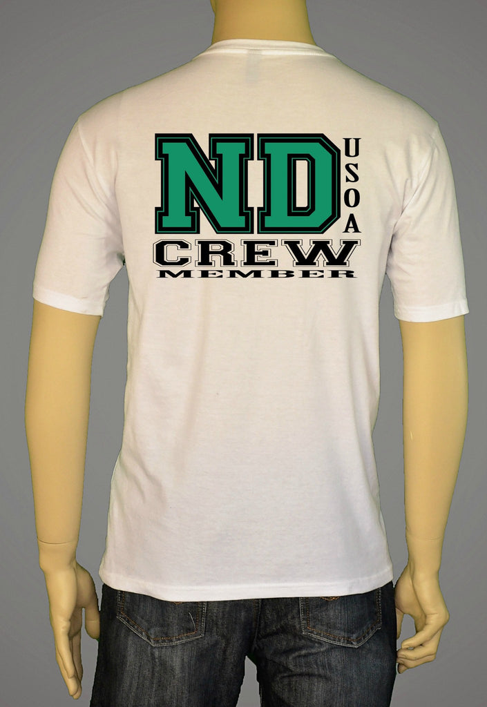 Short Sleeve T-Shirts, Long Sleeve T-Shirts, & Hoodies - USOA State Crew North Dakota