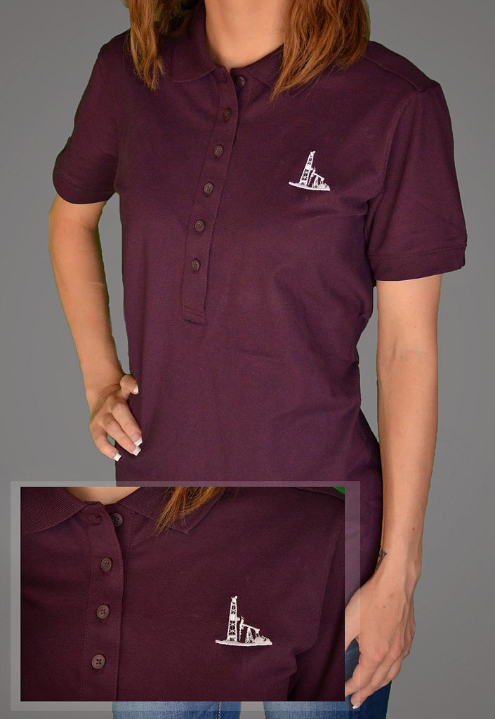 Women's Oilfield Casual Wear - USOA Women's Stretch Pique Polo