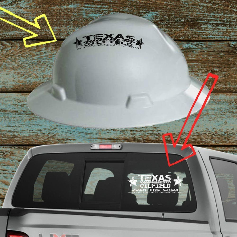 HARD HAT & TRUCK DECALS