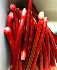 Rhubarb, Rose and Cardamom Jam