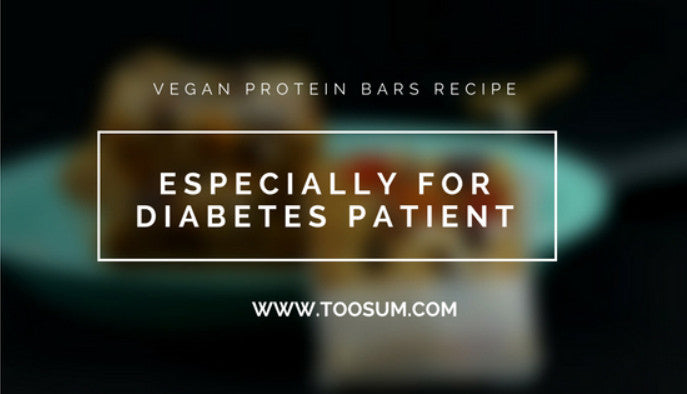 Vegan Protein Bars Recipe: Specially for Diabetes Patients