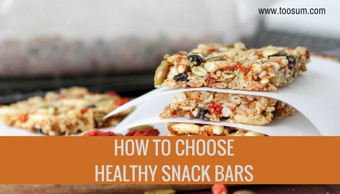 How to Choose Healthy Snack Bars