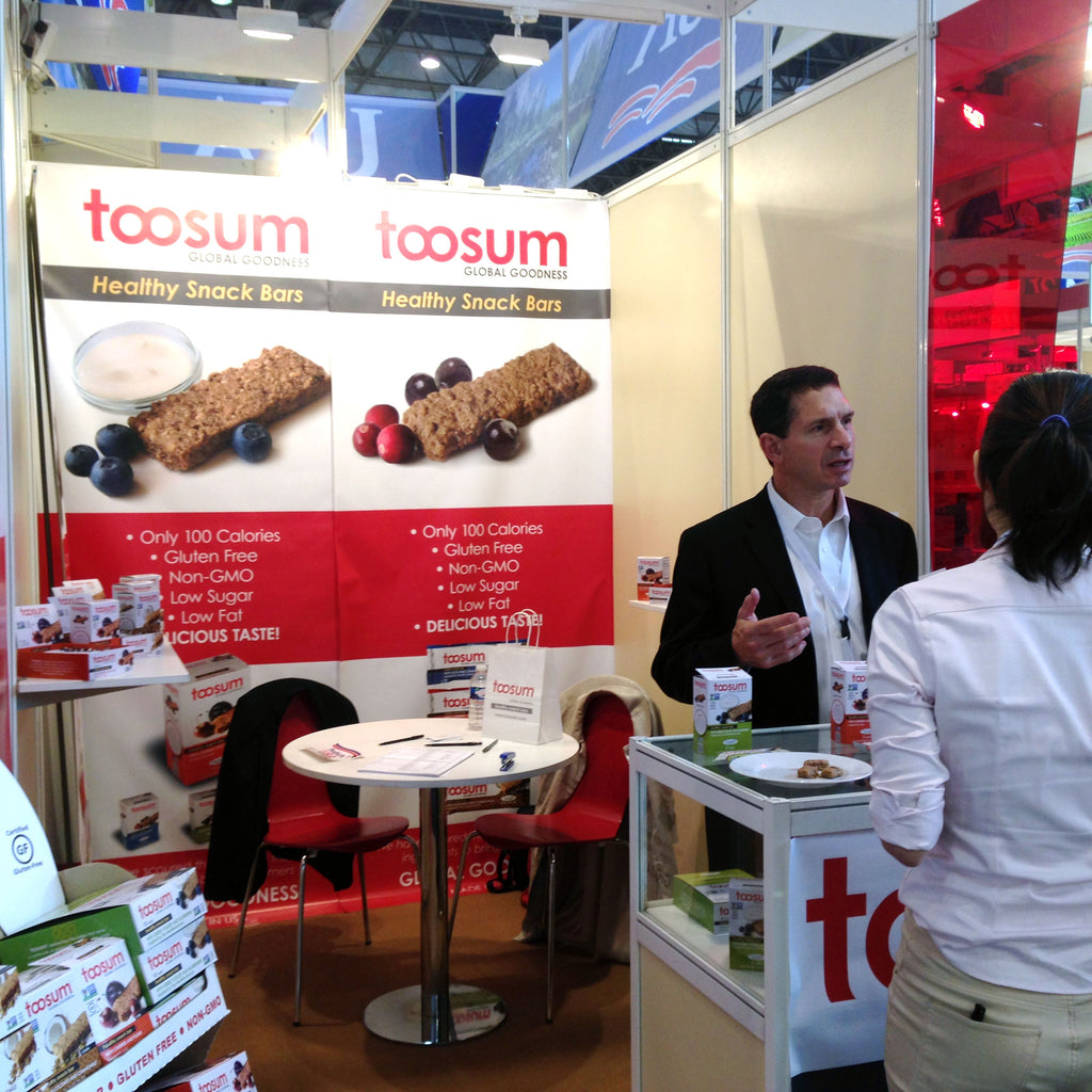 Toosum Bars Are Well Received At SIAL Paris