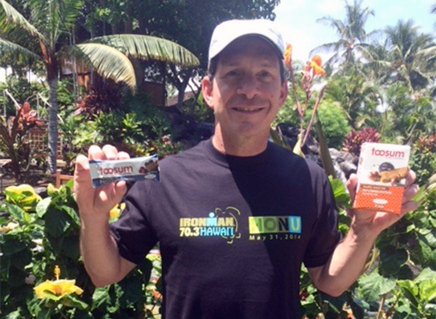 Toosum Snack Bars Fuel IronMan Competitor