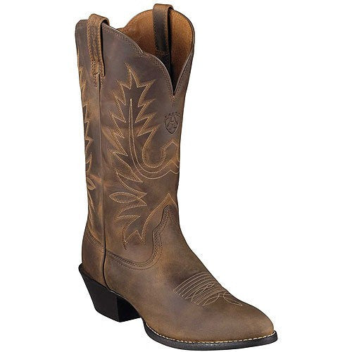 Comfort & Style: Ladies' Heritage Western R-Toe Boots by Ariat