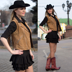 cowgirl fashion western clothing for women in boots