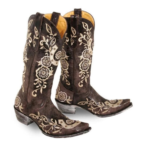 Ladies' Lucky Western Boots By Old Gringo