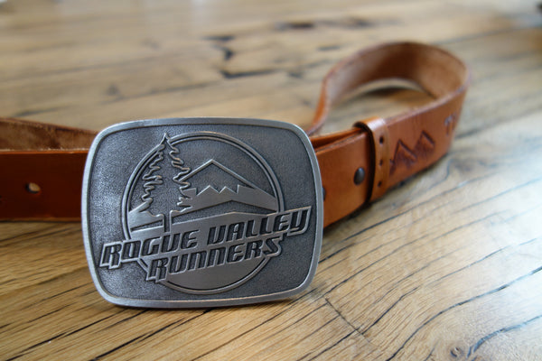 Rogue Valley Runners Belt Buckle