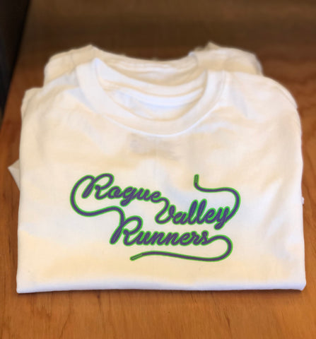Rogue Valley Runners Shoelace Toddler Tee