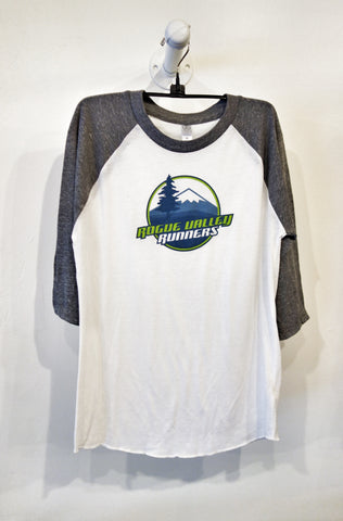Guys Rogue Valley Runners Baseball Eco-Jersey 3/4 Tee