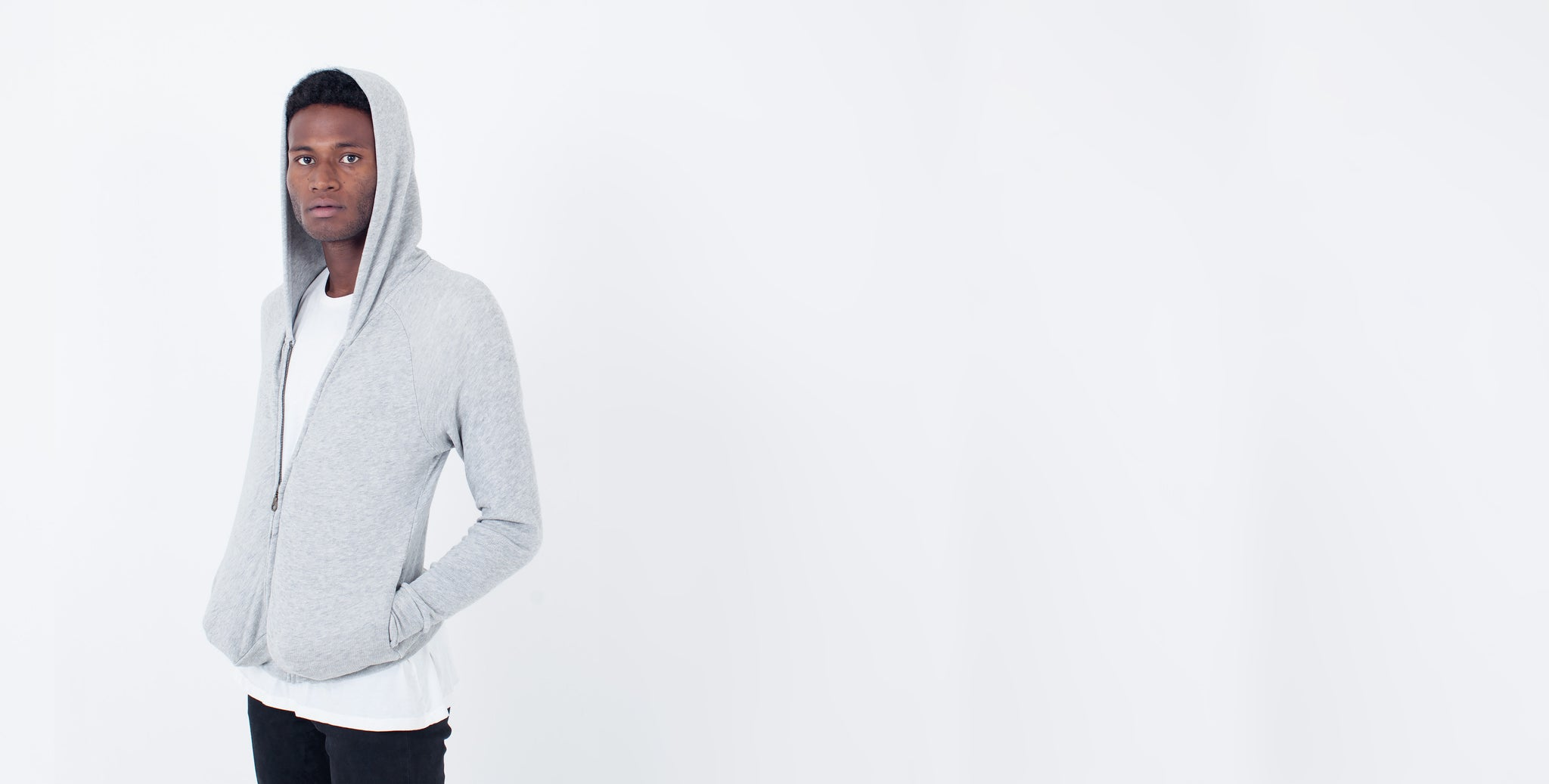 Bojaya Hoodie Grey Heather