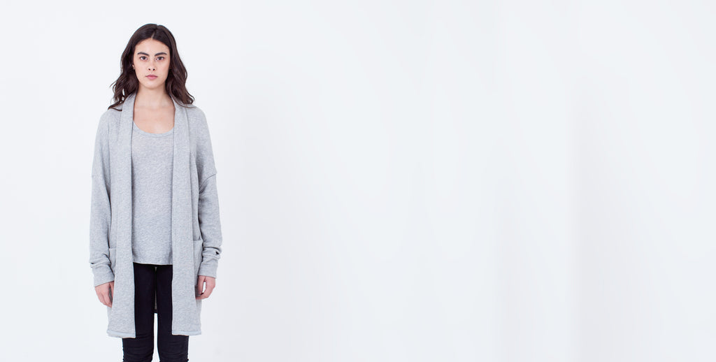 Filandia Cardigan Grey Heather