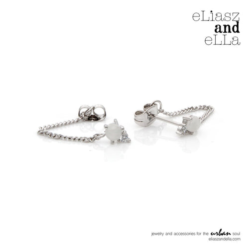 Eliasz & Ella Silver Starling Earrings