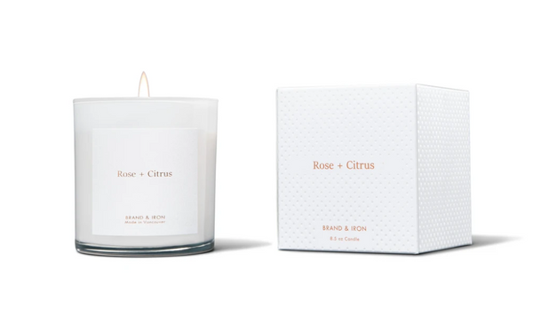 Brand & Iron Home Rose & Citrus