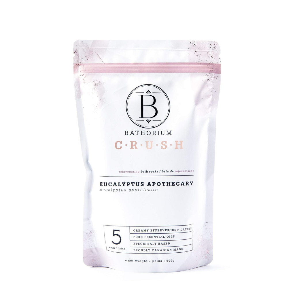 Eucalyptus Apothecary CRUSH Crush Bath Soak Bathorium 600g (5 Bath)
