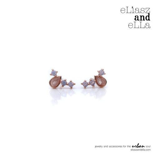 Eliasz & Ella Crown Earrings