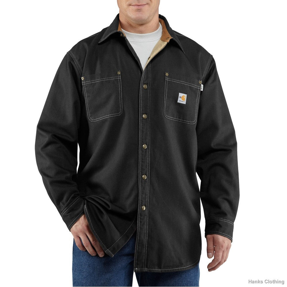 Carhartt Flame Resistant Canvas Shirt Jac  - 100432