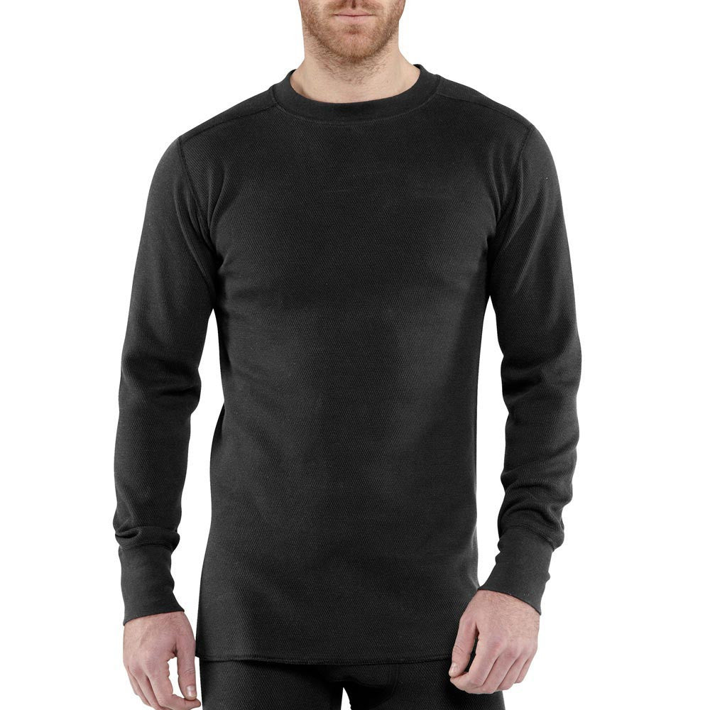 CARHARTT BASE FORCE COTTON SUPER-COLD WEATHER CREWNECK TOP - 100639