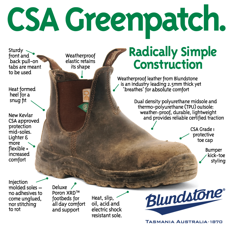 Blundstone Greenpatch 164 - 6