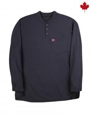 Big Bill FR Long Sleeve Henley - DW18KI6