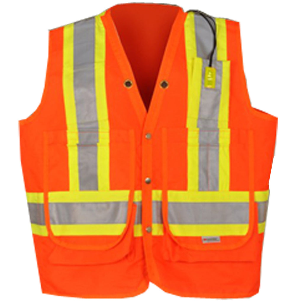 Ten-19 Surveyors Safety Vest - SFCA04