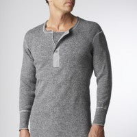 Stanfield's Heavy Weight Wool Henley - 1328