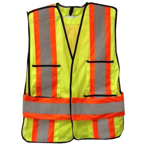 Mesh Tear Away Safety Vest - SFCA01