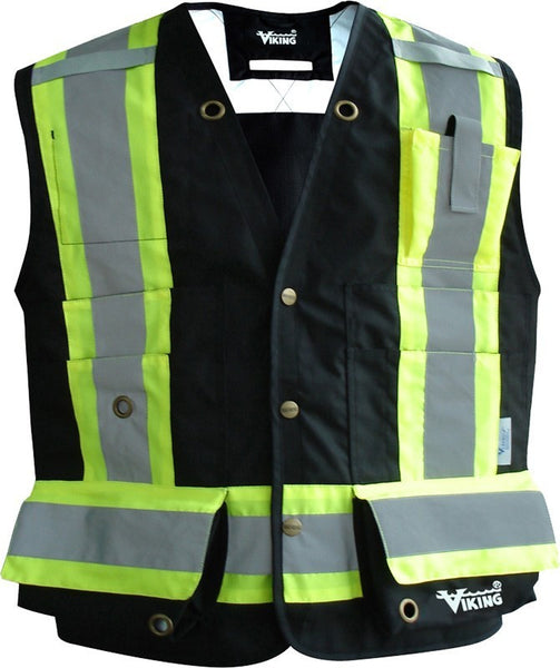 viking hivis fr vest 3995fr � jobsite workwear