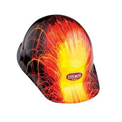 Graphic Fibre Metal Hard Hat - E2RWX3