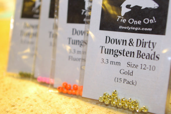 Down & Dirty Tungsten Beads (15 Pack)
