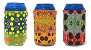 FISH SKIN COOZIE 3-PACK by Wingo Outdoors