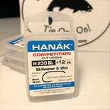 Hanák Competition Barbless Hooks