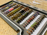 Lively Legz Barbless/ Tungsten Large Nymph Box (Preloaded with 90 Flies)