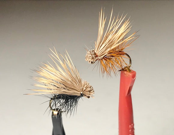 Elk Hair Caddis (Tan, Olive, Black, Brown)