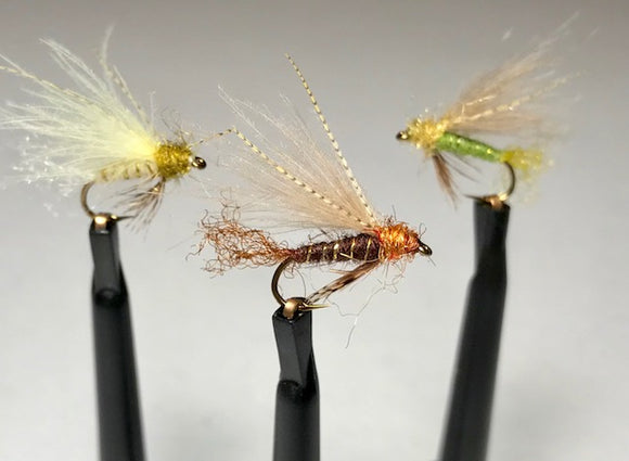 CDC Caddis Emerger (Olive, Brown, Cream)