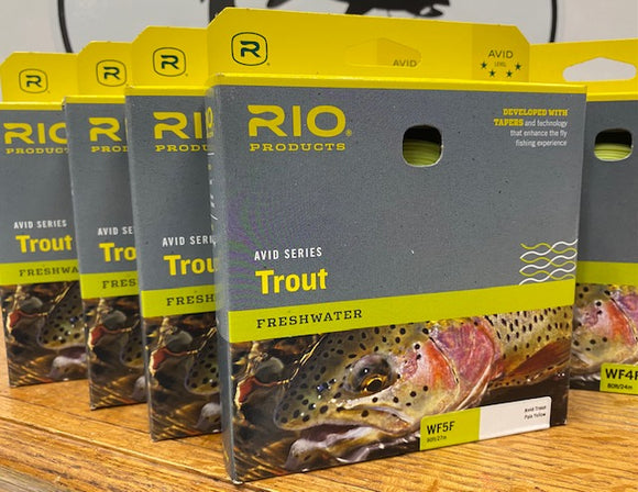 RIO Avid Trout Fly Line WF