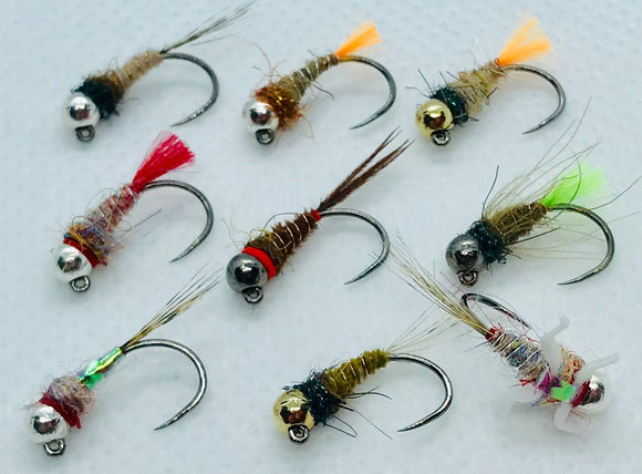 Fast Water Series/ Competition Barbless Jig Flies