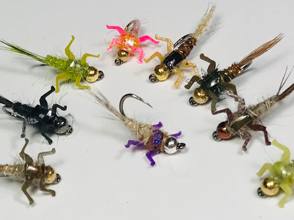 Original Barbless/ Tungsten Nymph Series