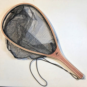 Lively Legz Wooden Handle Rubber Coated Mesh Net ( Domestic Shipping Only)