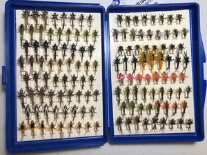 Bug Luggage Big Box Loaded (136 Flies @ approximately 1.20/fly)